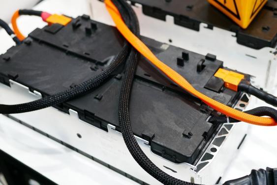 Batterie eines Elektroautos