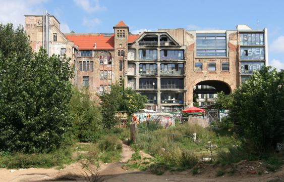 Mini-Favela in Berlin
