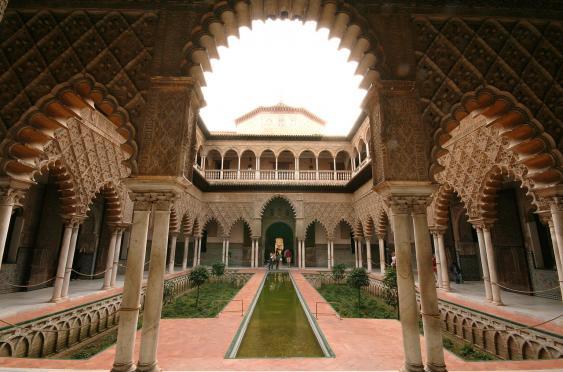 Patio de las Doncellas im Real Alcázar de Sevilla