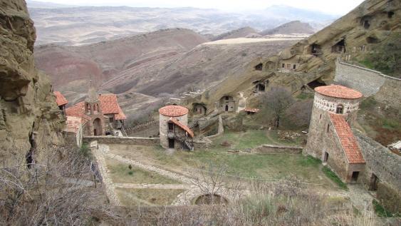 Dawit Garedscha, das älteste Kloster Georgiens