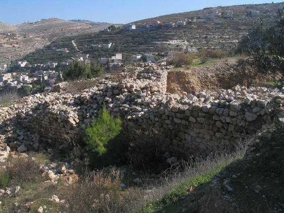 Ruinen der Festung von Betar