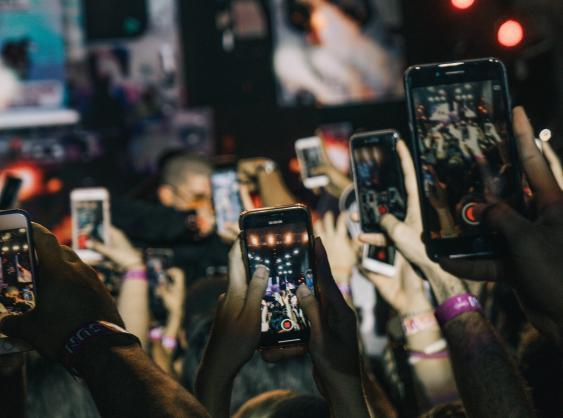 Smartphone-Meer
