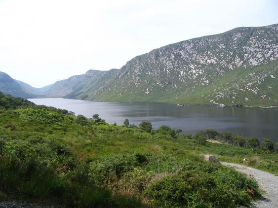 Lough Gleann  im Glenveagh National Park