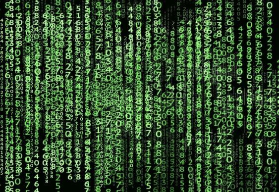 Digitaler Zahlensalat