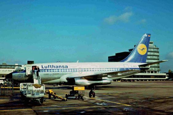 Lufthansa-Maschine Landshut in Manchester