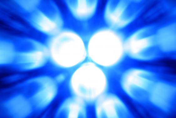 Blaue LEDs