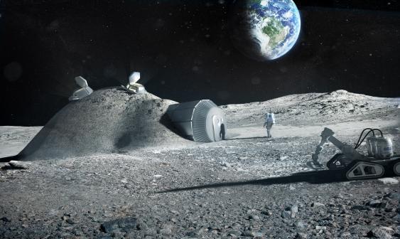 Entwurf einer ESA-Mondstation
