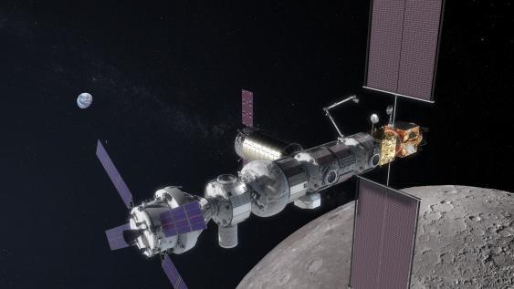 NASA-Entwurf einer Raumstation in der Mondumlaufbahn