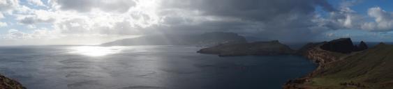 Blick Halbinsel São Lourenço Richtung Westen
