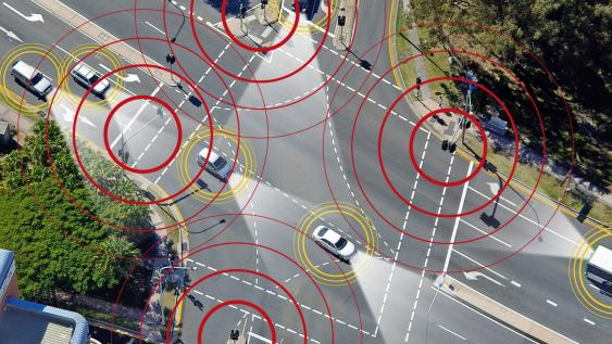 Smartes Verkehrsleitsystem