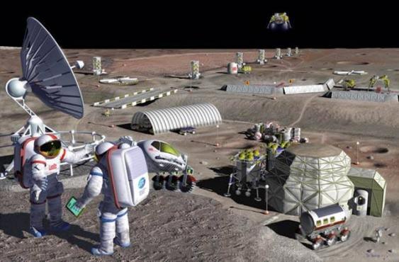 Moon-Mining-Pläne der NASA