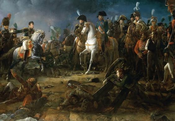 Napoléon bei der Schlacht von Austerlitz, Gemälde von François Gérard