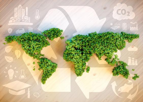 Visualisierung von Umweltschutz und Nachhaltigkeit