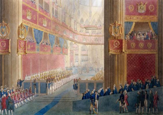 Krönung Napoleon I am 2. Dezember 1804
