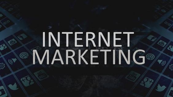 Schriftzug Onlinemarketing