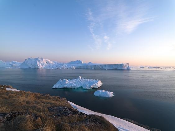 Meereis vor Grönland