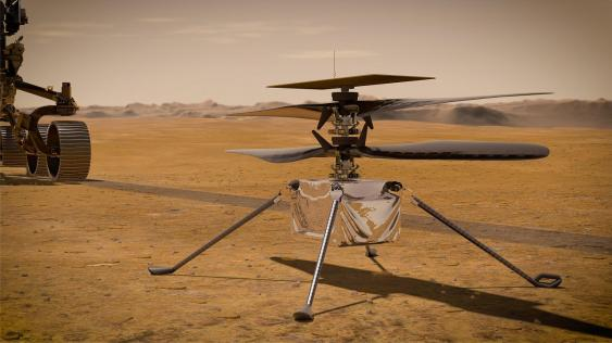 Ingenuity Mars Helicopter (Artist's Concept)