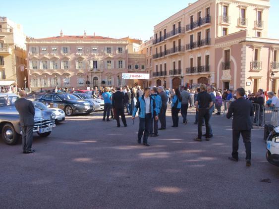 Rallyeziel in Monaco