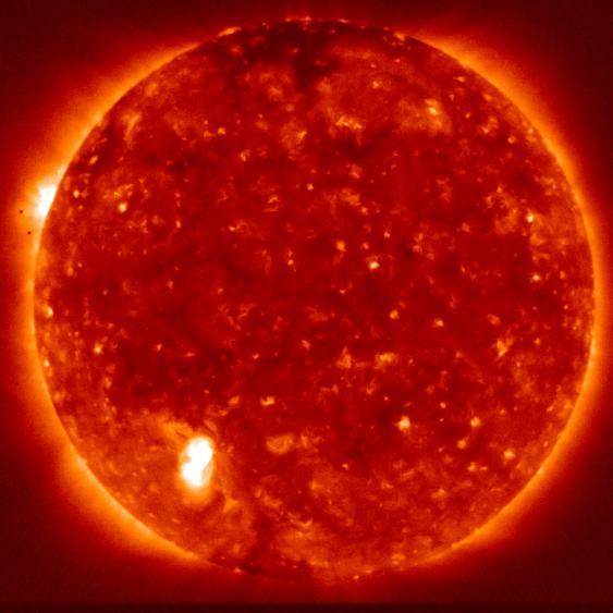 Hinode-Röntgenaufnahme der Sonne