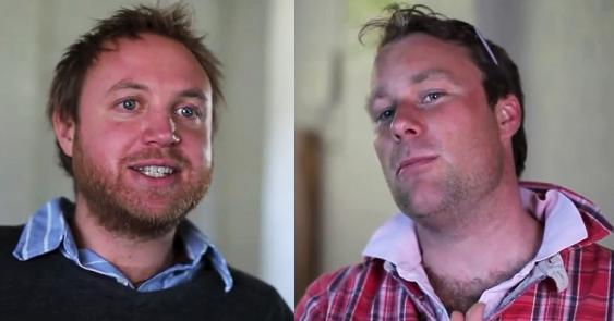 James Adair (links) und Ben Stenning (rechts)