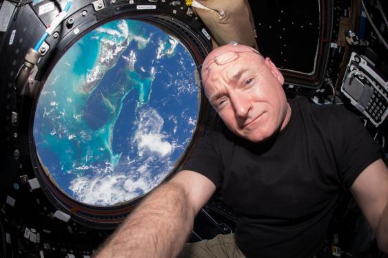NASA-Astronaut Scott Kelly
