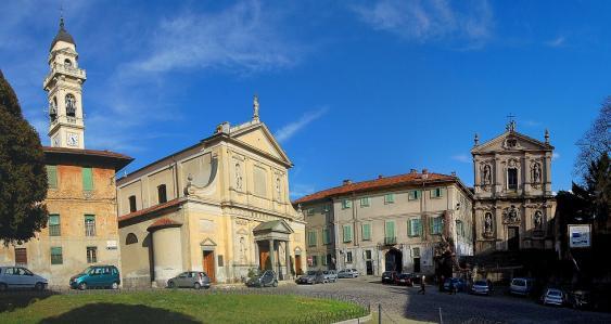Ortzentrum von Meda (Lombardei)