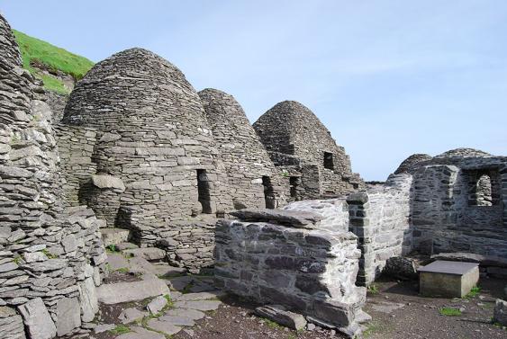 Klosterbauten auf Skellig Michael