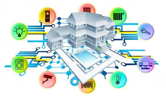 Smart-Home-Konzept