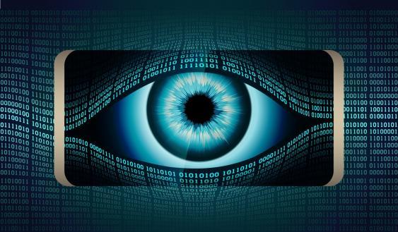 Das Allsehende Auge in digitaler Ausführung
