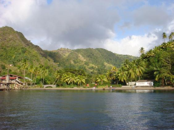 Walilabou Bay auf St Vincent