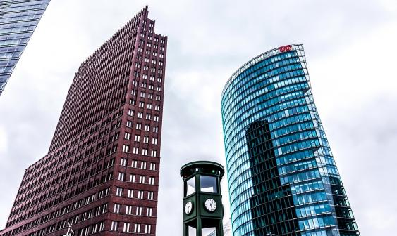 Gebäude am Potsdamer Platz