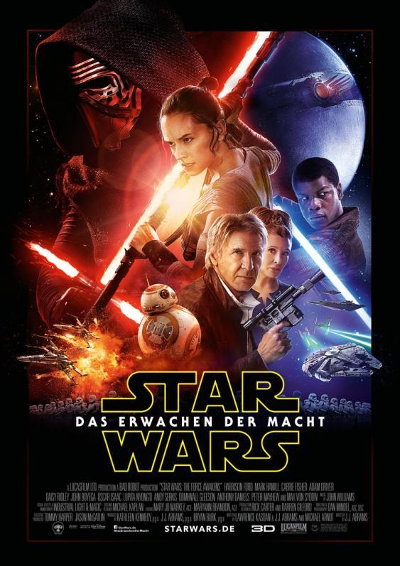 Filmplakat Star Wars VII