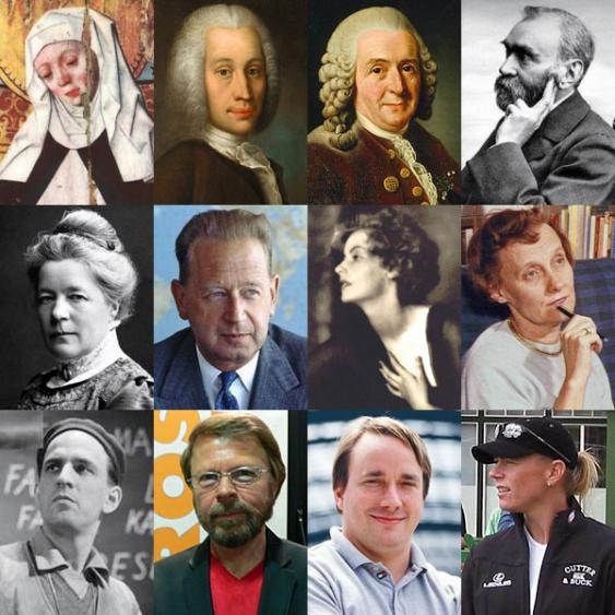 Porträts berühmter Schweden