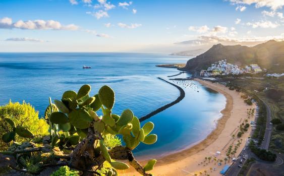 Strand Las Teresitas auf Teneriffa