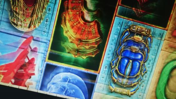 Screenansicht von Book of Ra