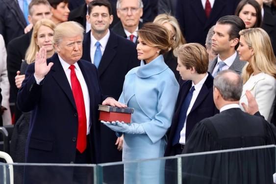 Amtseid Donald Trumps