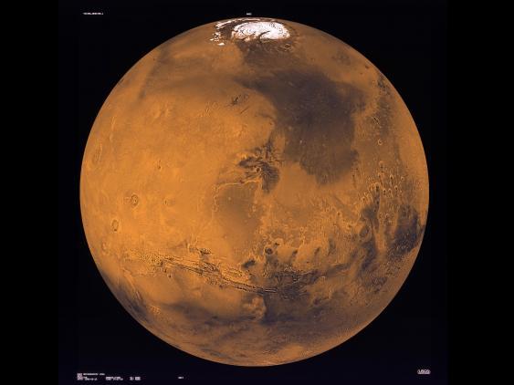 Marsglobus