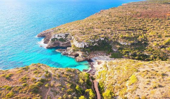 Marmorbucht auf Mallorca