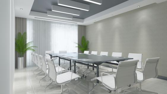 Modernes Sitzungszimmer