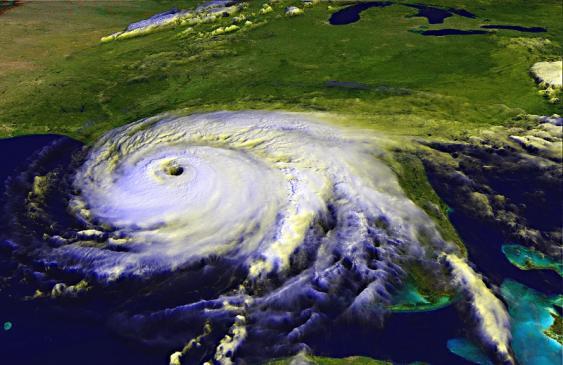 Satellitenaufnahme von Hurrikan Ivan (2010) vor der US-Golfküste
