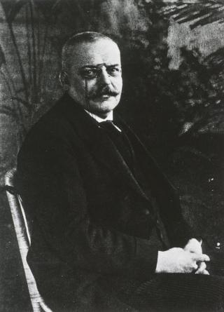 SW-Foto Alois Alzheimer, vor 1915