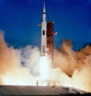 Start der Apollo-8-Mission