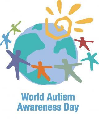 Logo des Welt-Autismus-Tags 2014