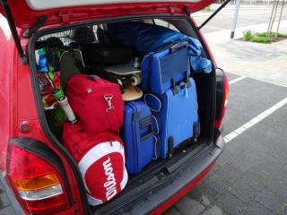 Kofferraum eines Kombis