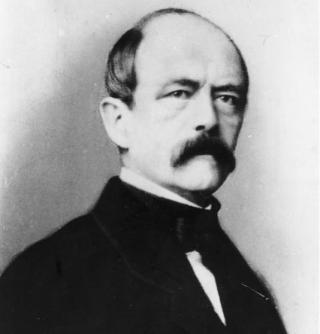 Otto Fürst von Bismarck-Schönhausen, Lichtbildporträt von 1862