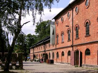 Historische Anlagen der Nitroglycerin Aktiebolaget am Vinterviken