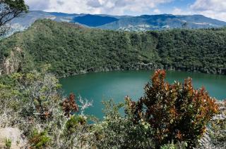 Laguna de Guatavita im kolumbianischen Hochland