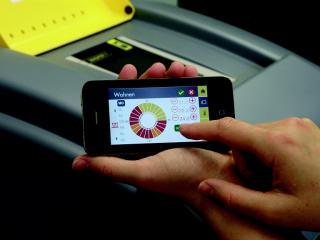 Smartphone-App für Wärmpumpensteuerung