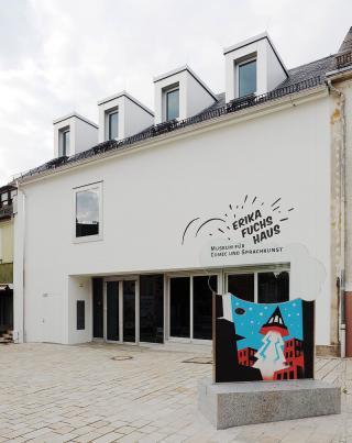 Das neu eröffnete Erika-Fuchs-Haus in Schwarzenbach an der Saale.