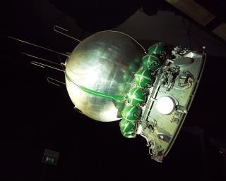 Mockup-Modell der Wostok-1 im Luft- und Raumfahrtmuseum von Paris